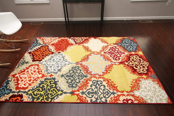 4053 Multi-Color - Bargain Area Rugs  - 3
