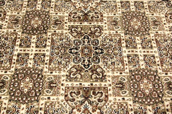 0551 Green Oriental Area Rugs