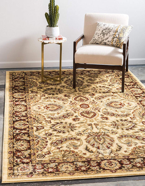 5116 Ivory Persian Area Rugs