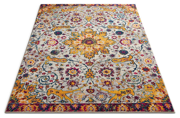 6947 Gold Vintage Distressed Oriental Area Rugs