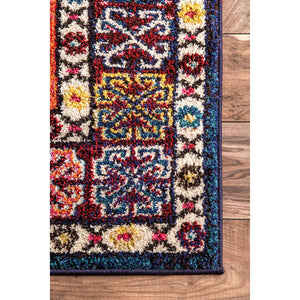 9336 Orange Tribal Oriental Area Rugs