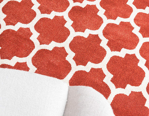 9950 Terracotta Trellis Area Rugs