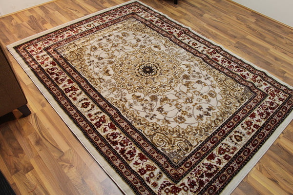 Persian Rugs Ivory Oriental Area Rugs | Bargain Area Rugs