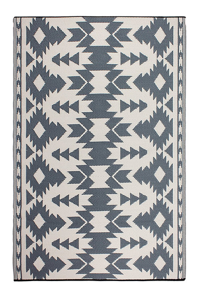 7113 Gray Reversible Outdoor/Indoor Area Rugs