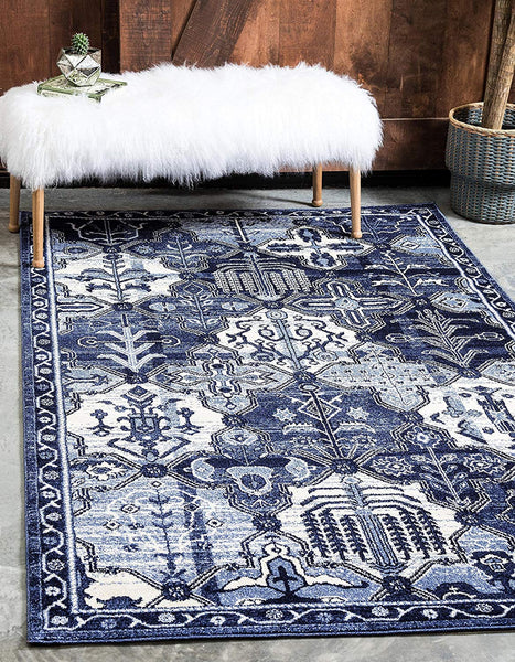 9320 Blue Oriental Area Rugs