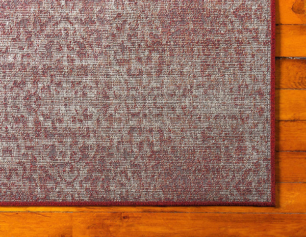 9329 Terracotta Distressed Oriental Area Rugs