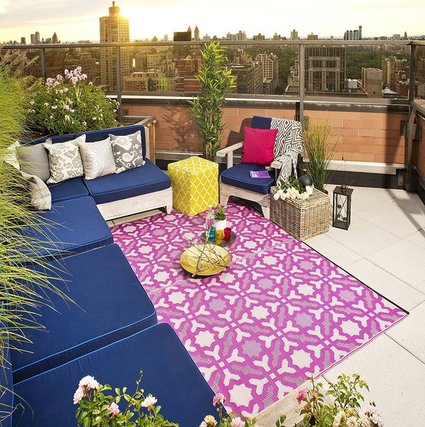 7103 Magenta Indoor/Outdoor Rug