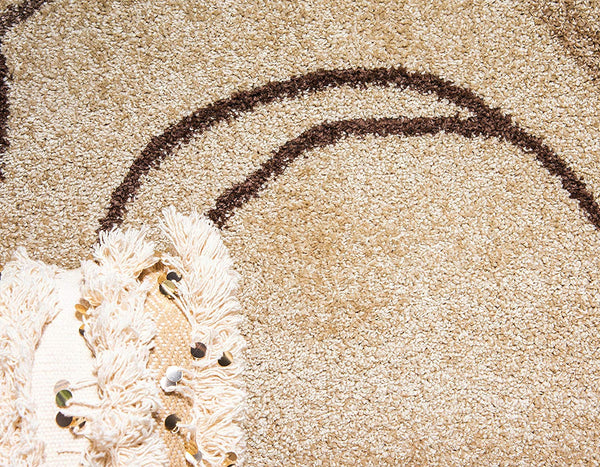 9925 Beige Modern Contemporary Area Rugs