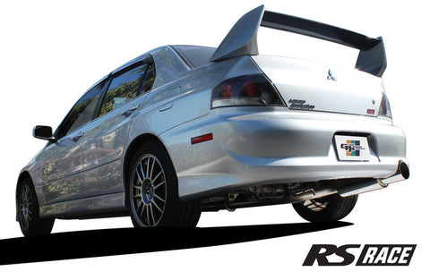GReddy RS Race Exhaust: Mitsubishi EVO