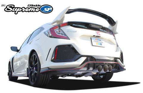 GReddy Supreme SP Exhaust HG - Civic Type R FK8