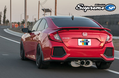 GReddy Supreme Exhaust 2017- Up Civic Si Sedan (Only)
