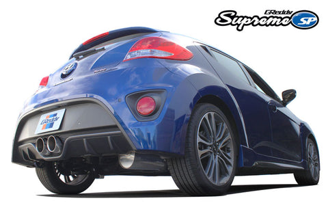 GReddy Supreme SP Exhaust Hyundai Veloster