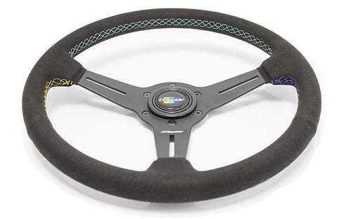 GReddy Suede Steering Wheel 340mm
