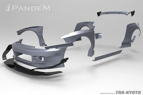 Pandem Honda Civic EG Wide Body Aero Kit