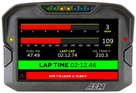 AEM CD-7 Carbon Flush Digital Dash Display