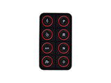 AEM EV 8 Button Keypad CAN Based Programmable Backlighting