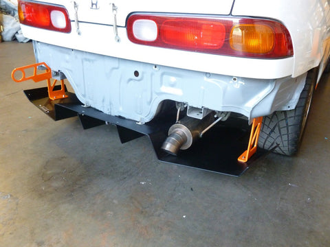 Top1 Motors Rear Diffuser - Acura