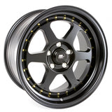 "MST Wheels MT35 Black w/Machined Lip 17"" 5x114.3 +20"
