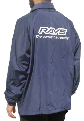 Rays Windbreaker Jacket Navy