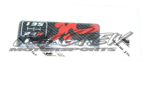 J'S Racing Shifter Sticker 5 Spd