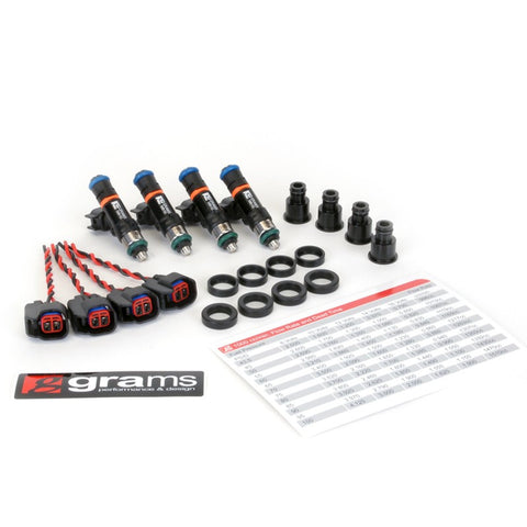 Grams Performance Injector Kit - B/D/F/H Series