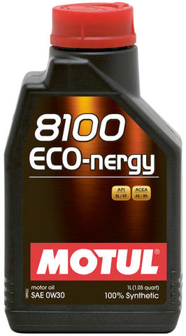 Motul 8100 Synthetic Motor Oil  Eco-Nergy