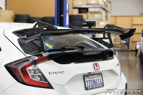 Spoon Sports 3DGT Rear Carbon Fiber Spoiler - Honda Civic Type R FK8