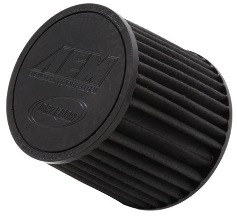 "AEM DryFlow Air FilterAIR FILTER; 2.25"" FLG X 5"" DRYFLOW"
