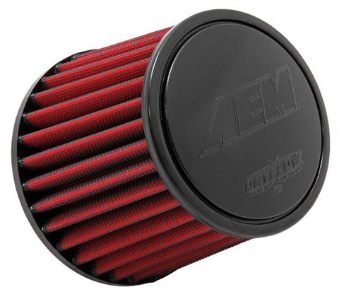 "AEM DryFlow Air FilterAIR FILTER; 2.25"" X 5"" DRYFLOW"