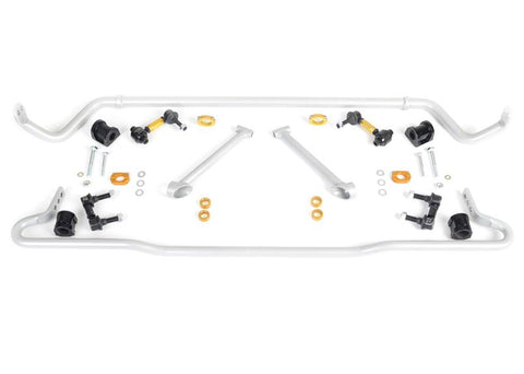 Whiteline Front / Rear Sway Bar Kit - 15-18 WRX/STI Base - Limited