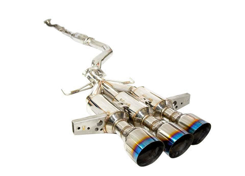 Invidia R400 Gemini Exhaust Civic Type R 17-18 FK8 (TRIPLE BURNT TIPS)