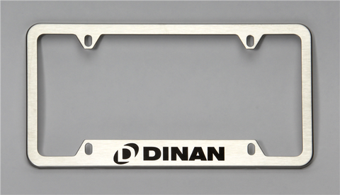 Dinan License Plate Frame – Brushed