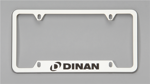 Dinan License Plate Frame – Polished