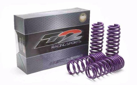 D2 Racing Pro Series Springs - Honda