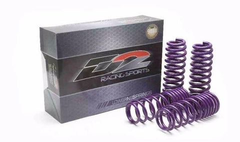 D2 Racing Pro Series Springs - Lexus
