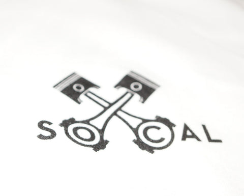 Socal Pitcrew T Shirt - White