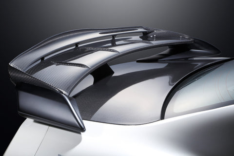Mine's  Double Carbon Rear Wing Cover GTR - R35