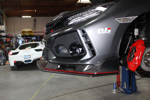 EVS Tuning Carbon Front Lip Spoiler - Honda Civic Type R FK8