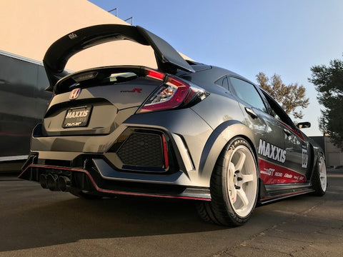 EVS Tuning Carbon Rear Spoiler - Honda Civic Type R FK8