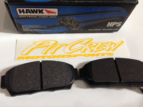 Hawk HPS Rear Brake Pads - Acura