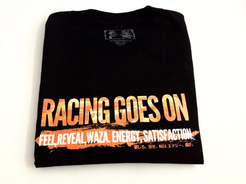 Front J'S Racing Fire Shirt Black
