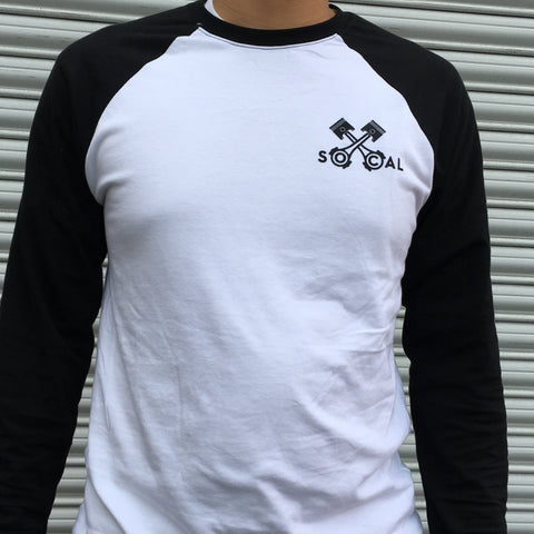 Socal Pitcrew Raglan Long Sleeve Shirt