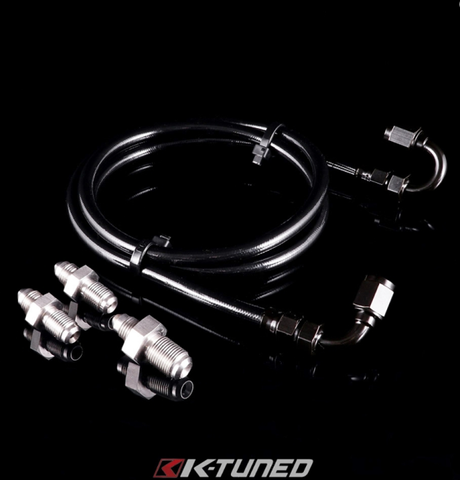 K-Tuned Stainless Steel Clutch Line - B Series