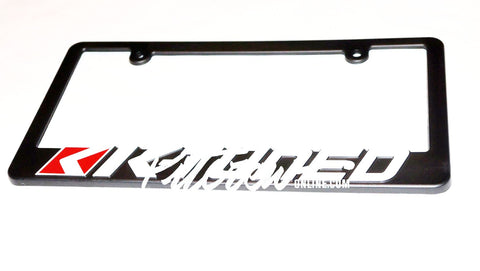 K Tuned License Plate Frame