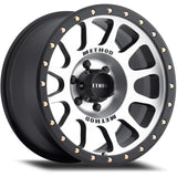 Method Racing Wheel 305 NV - Machine/Black Finish