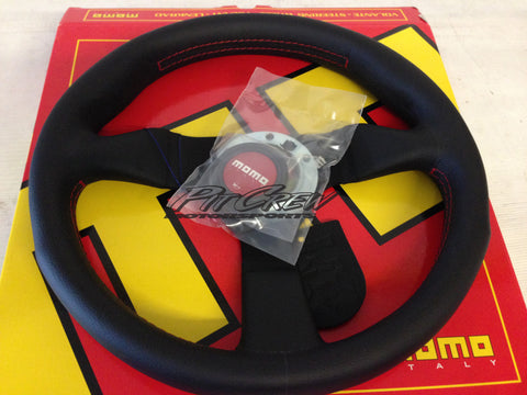 MOMO Monte Carlo Leather Steering Wheel