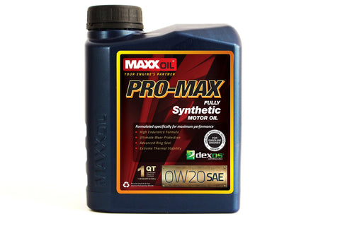 Maxx Oil Full Synthetic Motor Oil 1 Quart