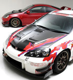 J'S Racing 05-06 RSX DC5 Street Version Full Body Kit FRP