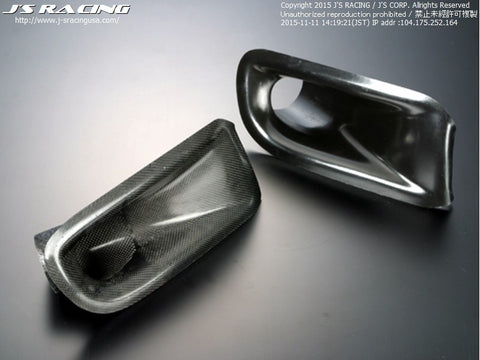 J'S Racing Air Intake Duct 92-95 Civic