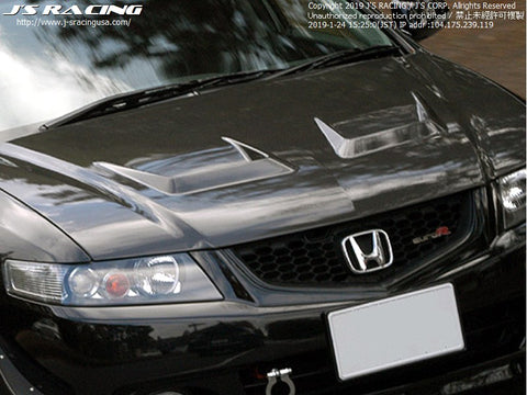 J'S Racing Type V Hood 04-08 TSX CL7/9